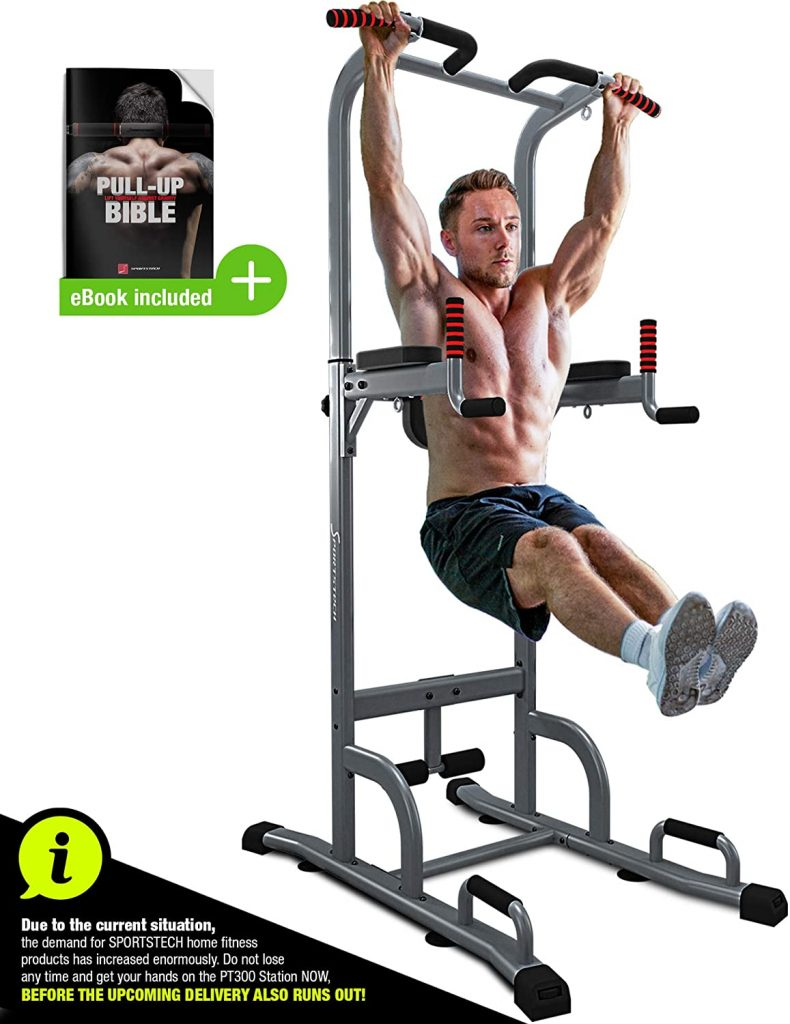 Sportstech Pull Up Bar and tower