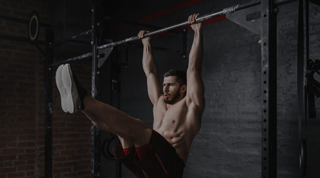 free standing pull up bars header